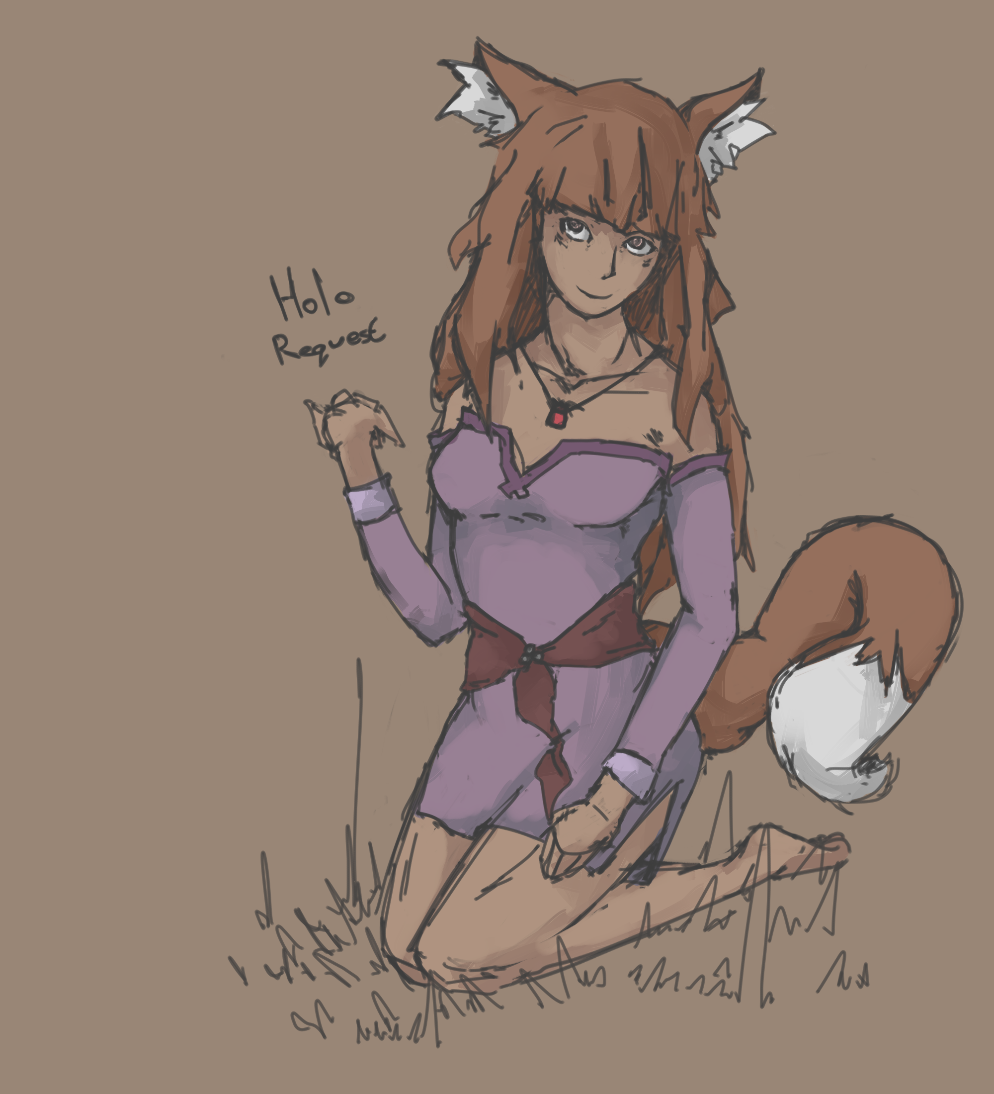 Spice and Wolf - Holo Request