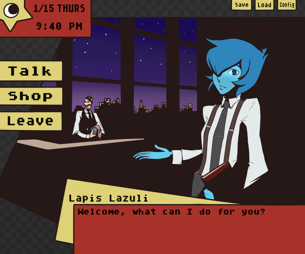 Lapis Lazuli - Pub Waitress