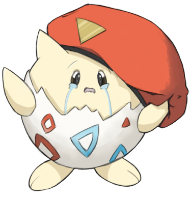 Sad Togepi (Street Fighter Crossover)