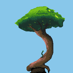 Tree Pixel Art