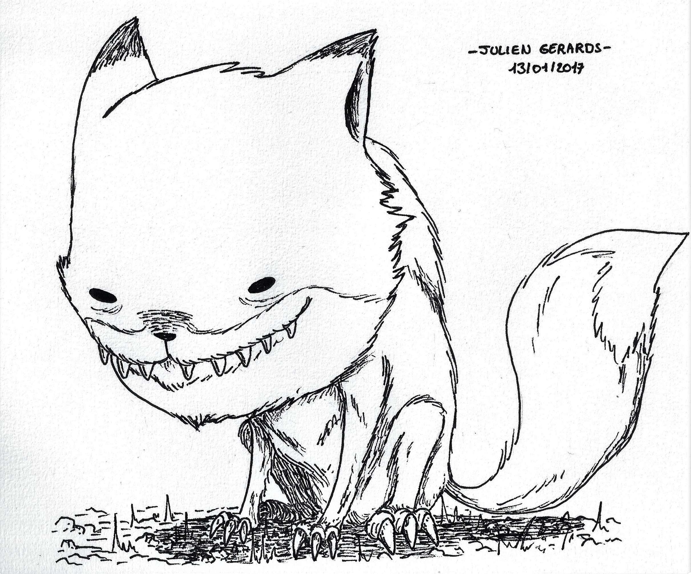 weird fox