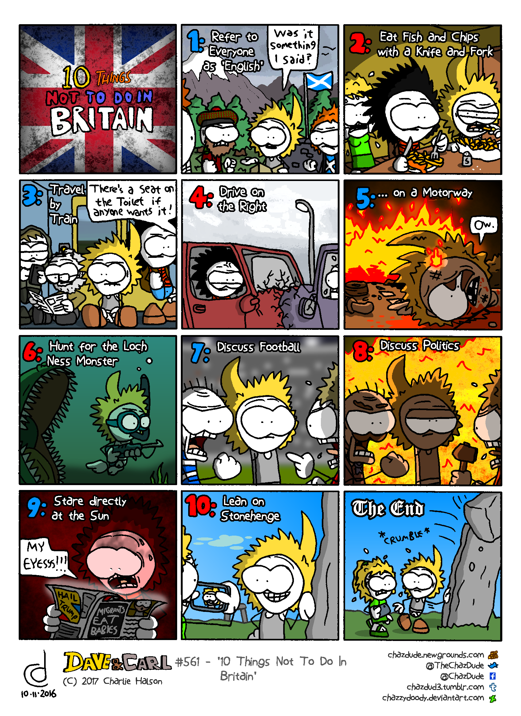10 Things Not To Do In Britain