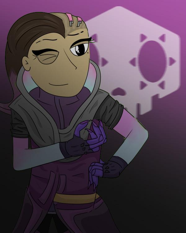 Sombra -Overwatch