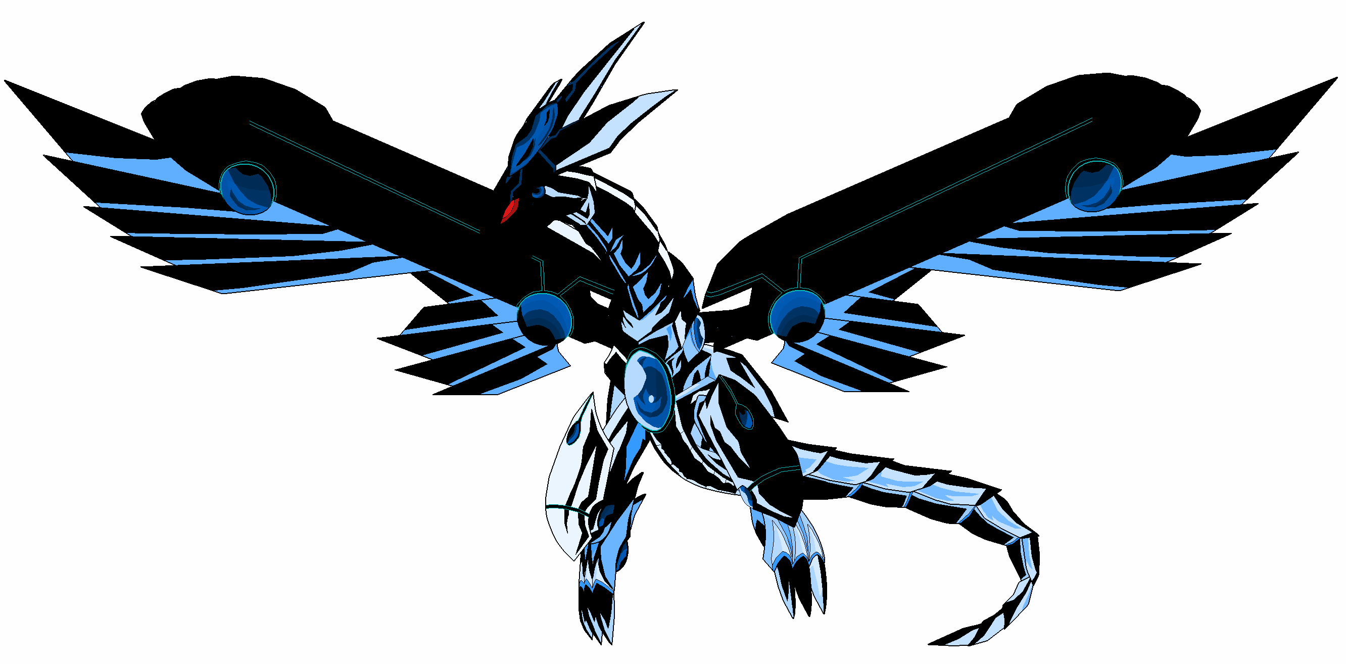 blue eyes darkz dragon
