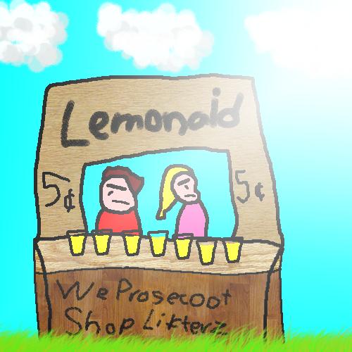 A Nice Cold Glass Of Lemonade