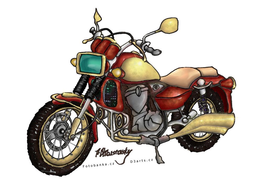 Comix motorcycle