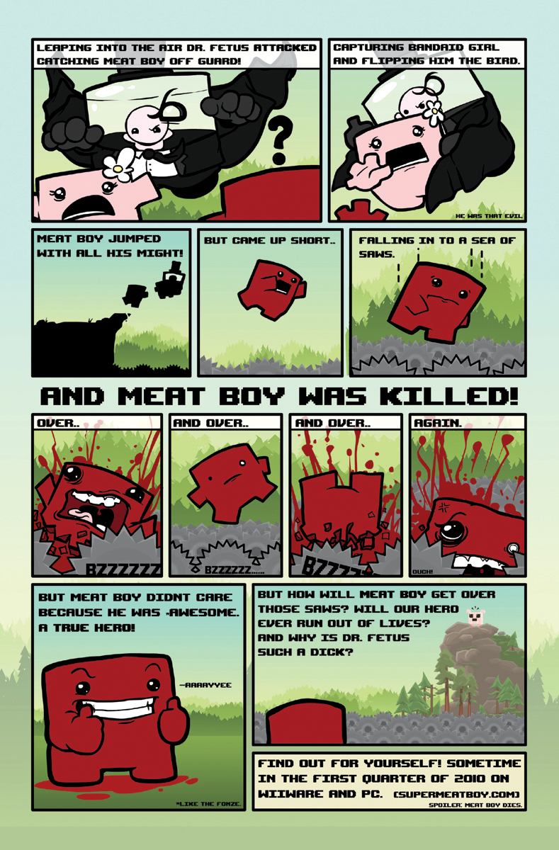 Super Meat Boy comic (p2)
