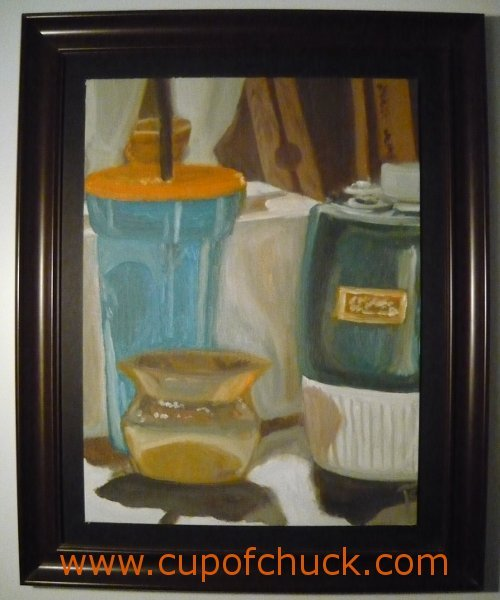 Complementary Color Still Life