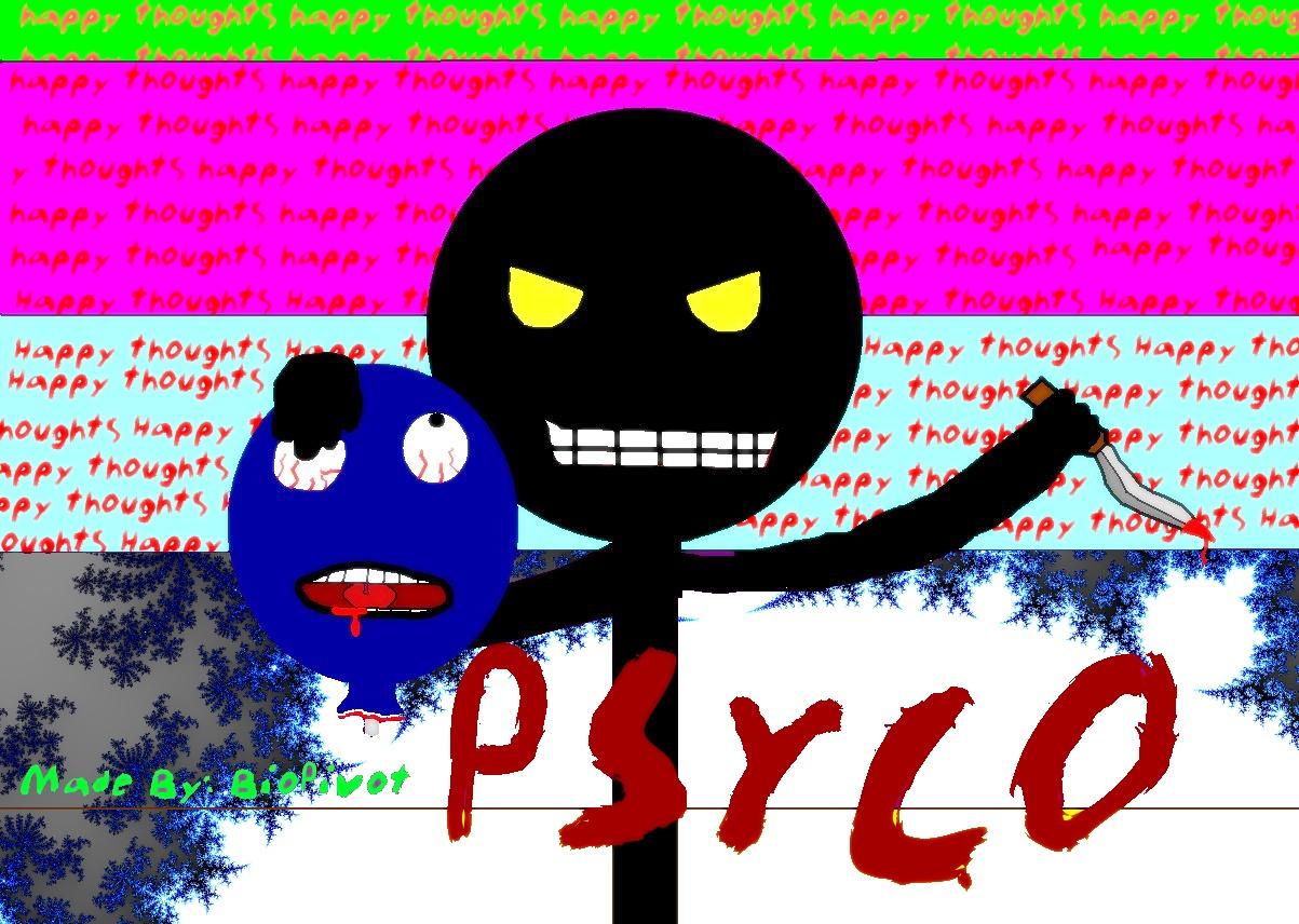 Psycho (MsPaint)
