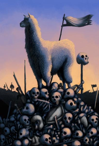 Llama of DOOM