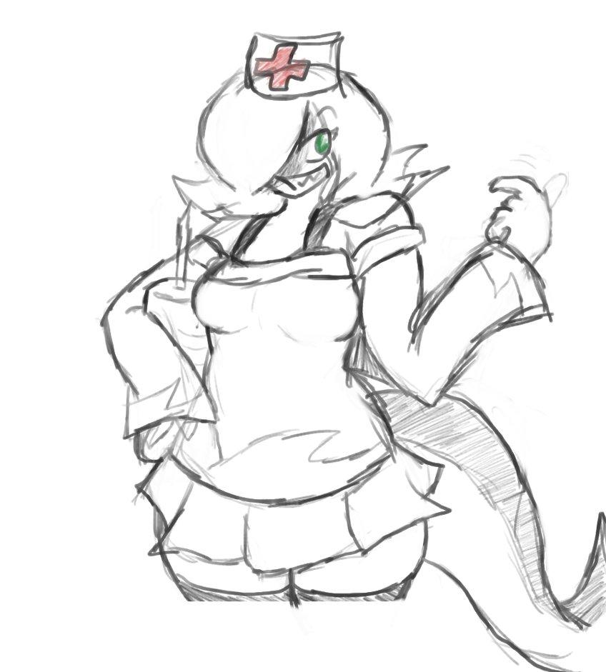 Olivia the Snark nurse