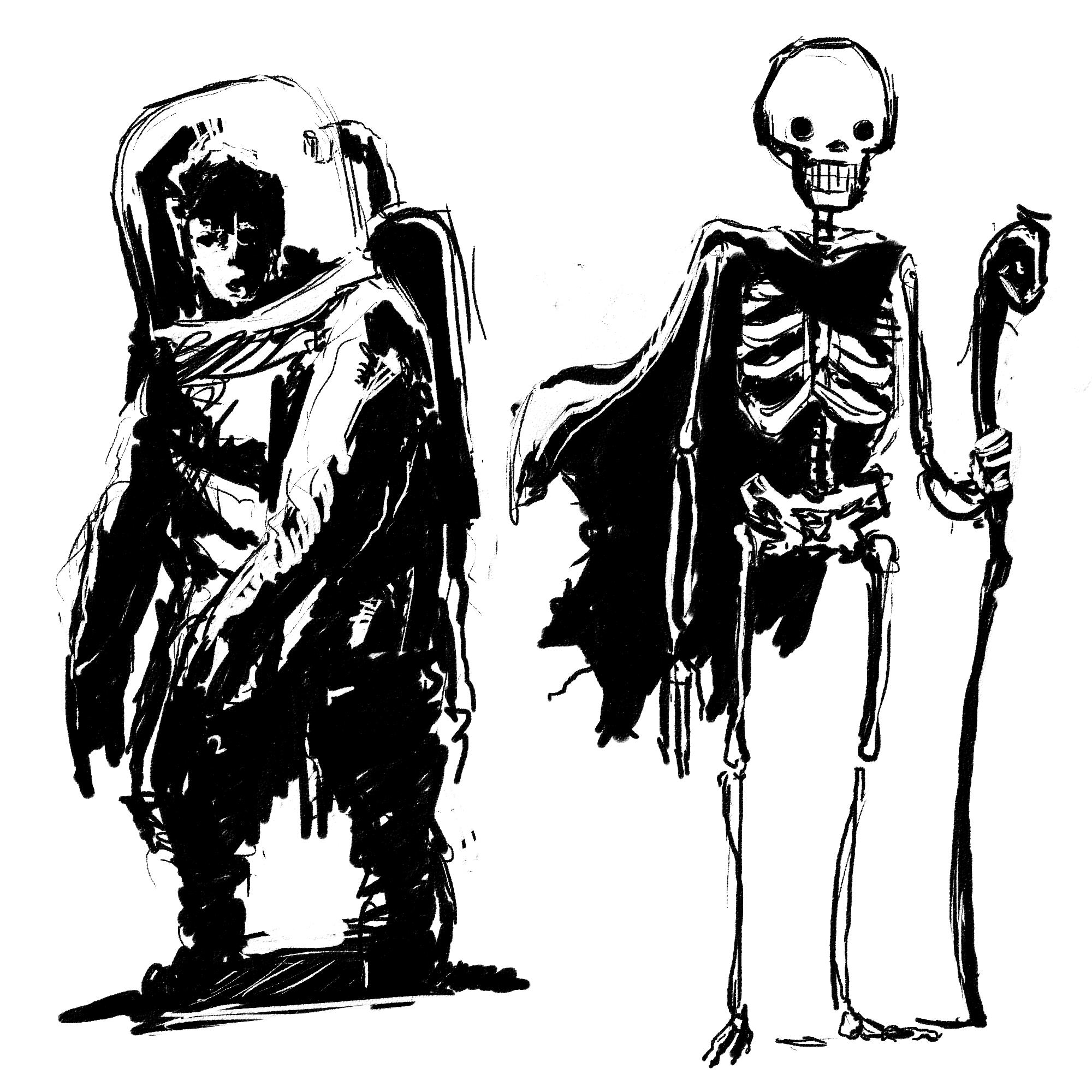 character sketch stuff