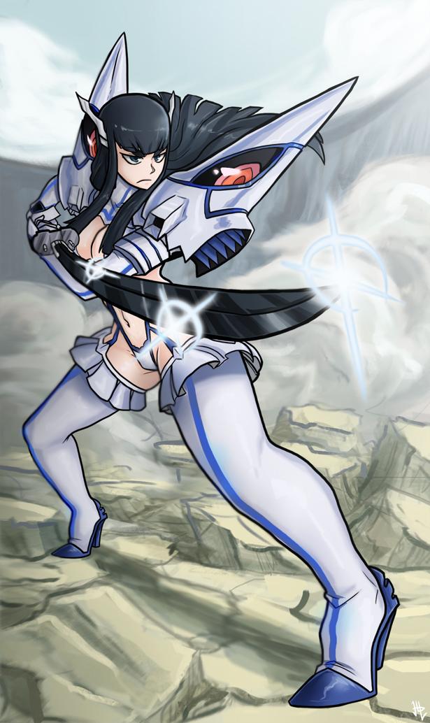 Satsuki Kiryuin - Kill la Kill Postcard
