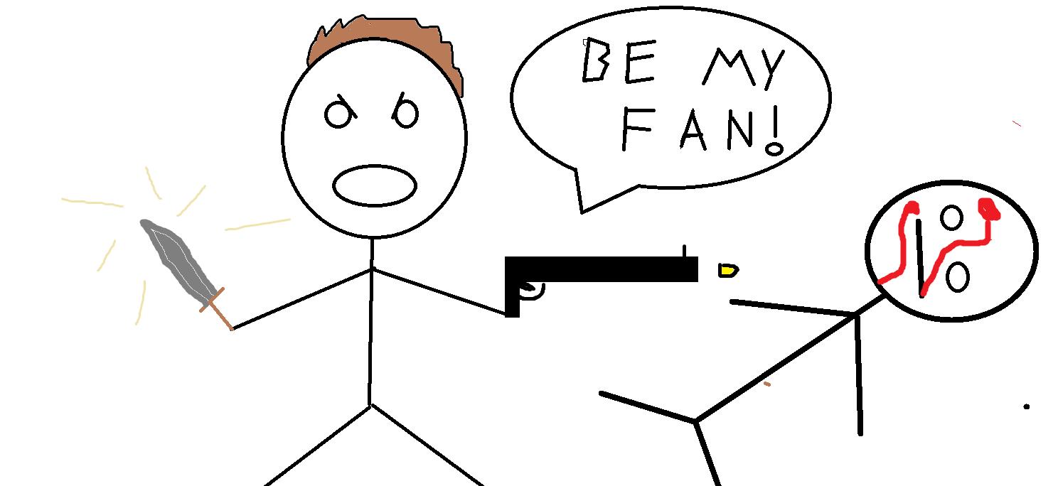 be my fan