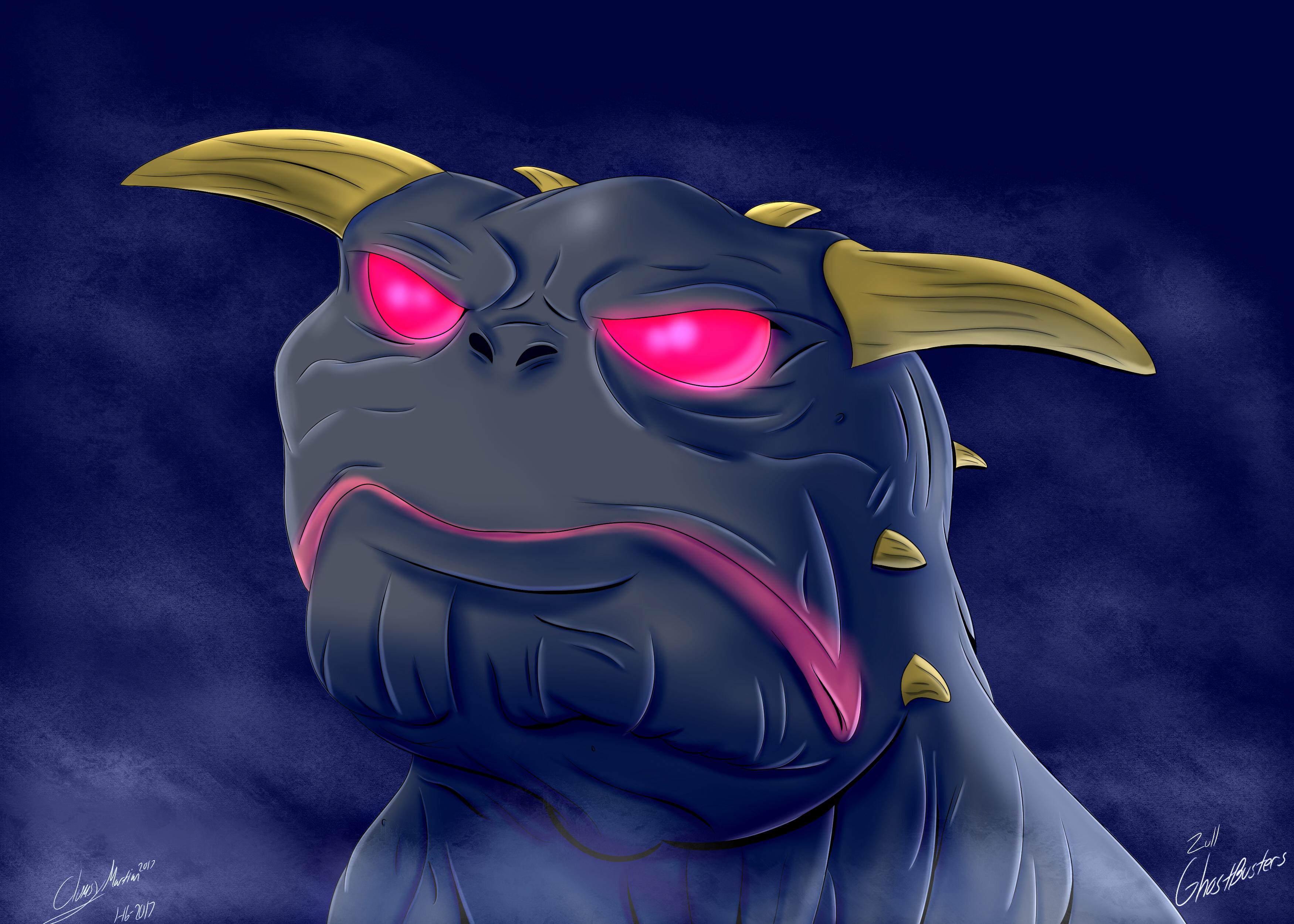 Zull/Terrror Dog (Ghostbusters Fan Art)