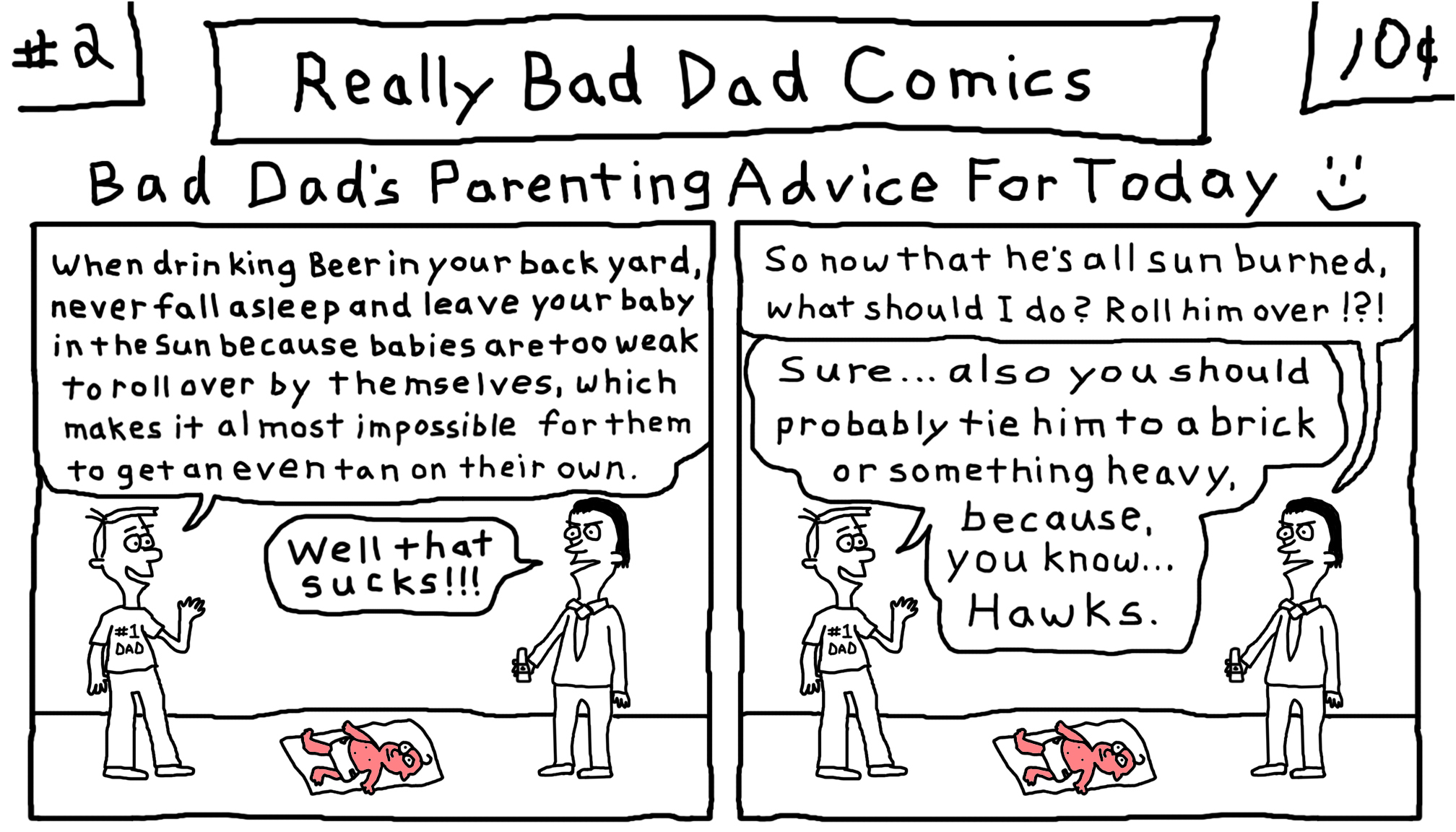 Really Bad Dad Comics # 2
