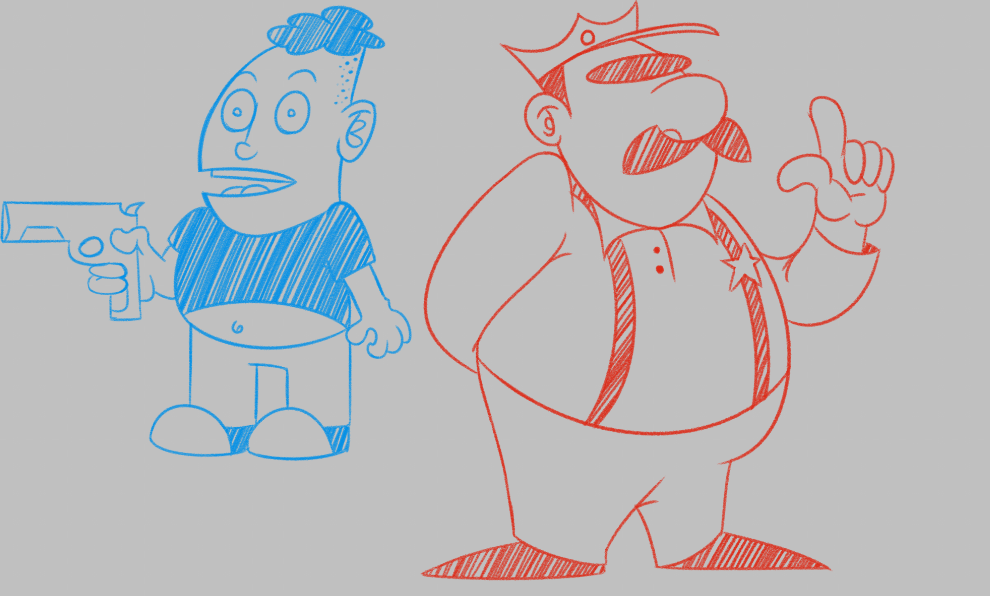 Cop and Boy