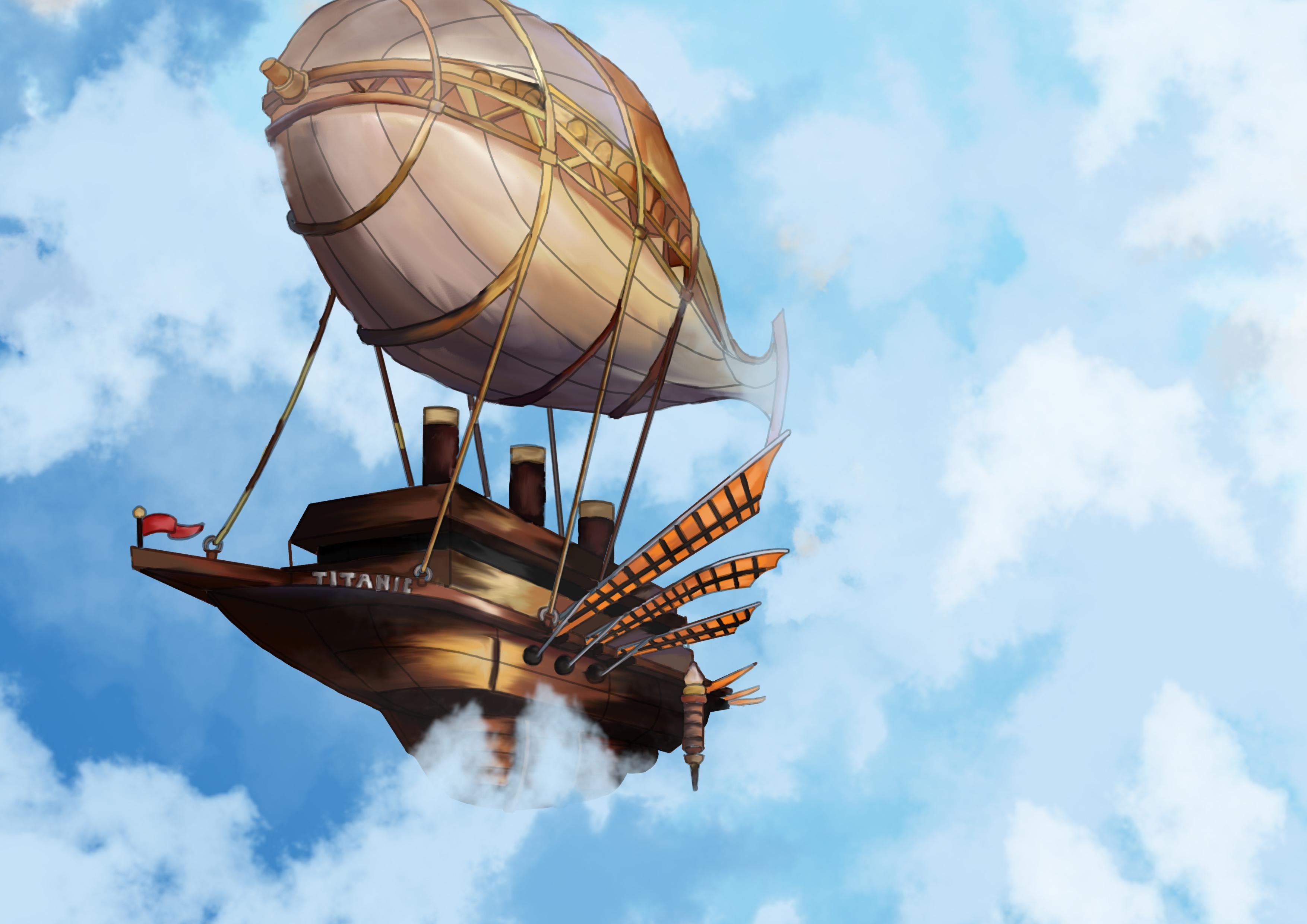 Steampunk Titanic