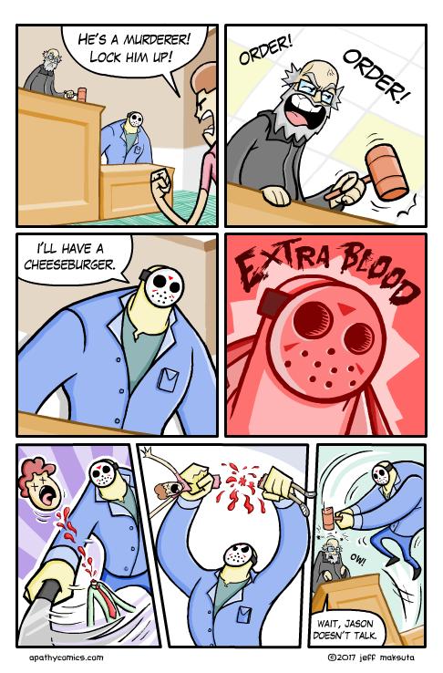 Jason Comic Part 3