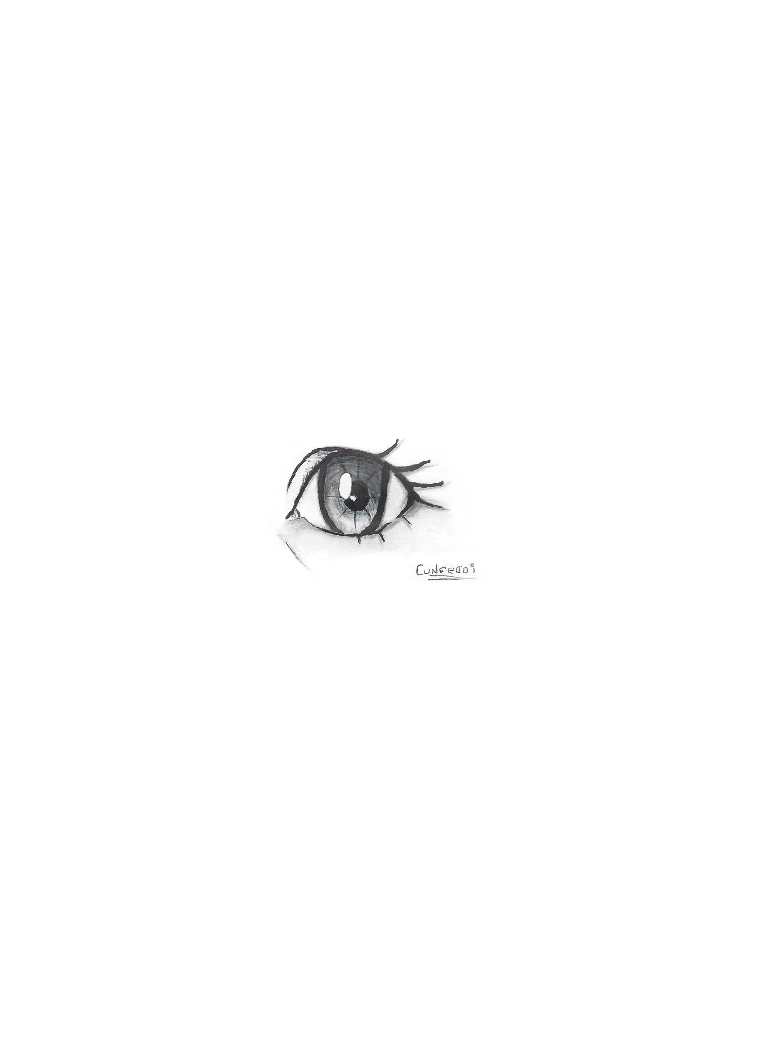 Manga eye practice