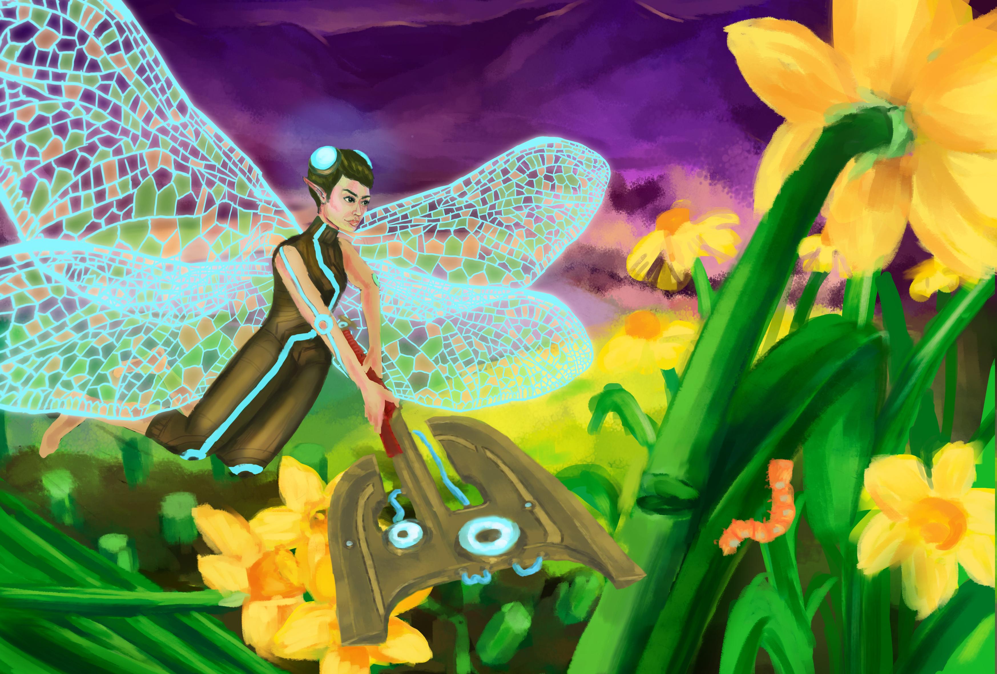 Dragonfly Elf
