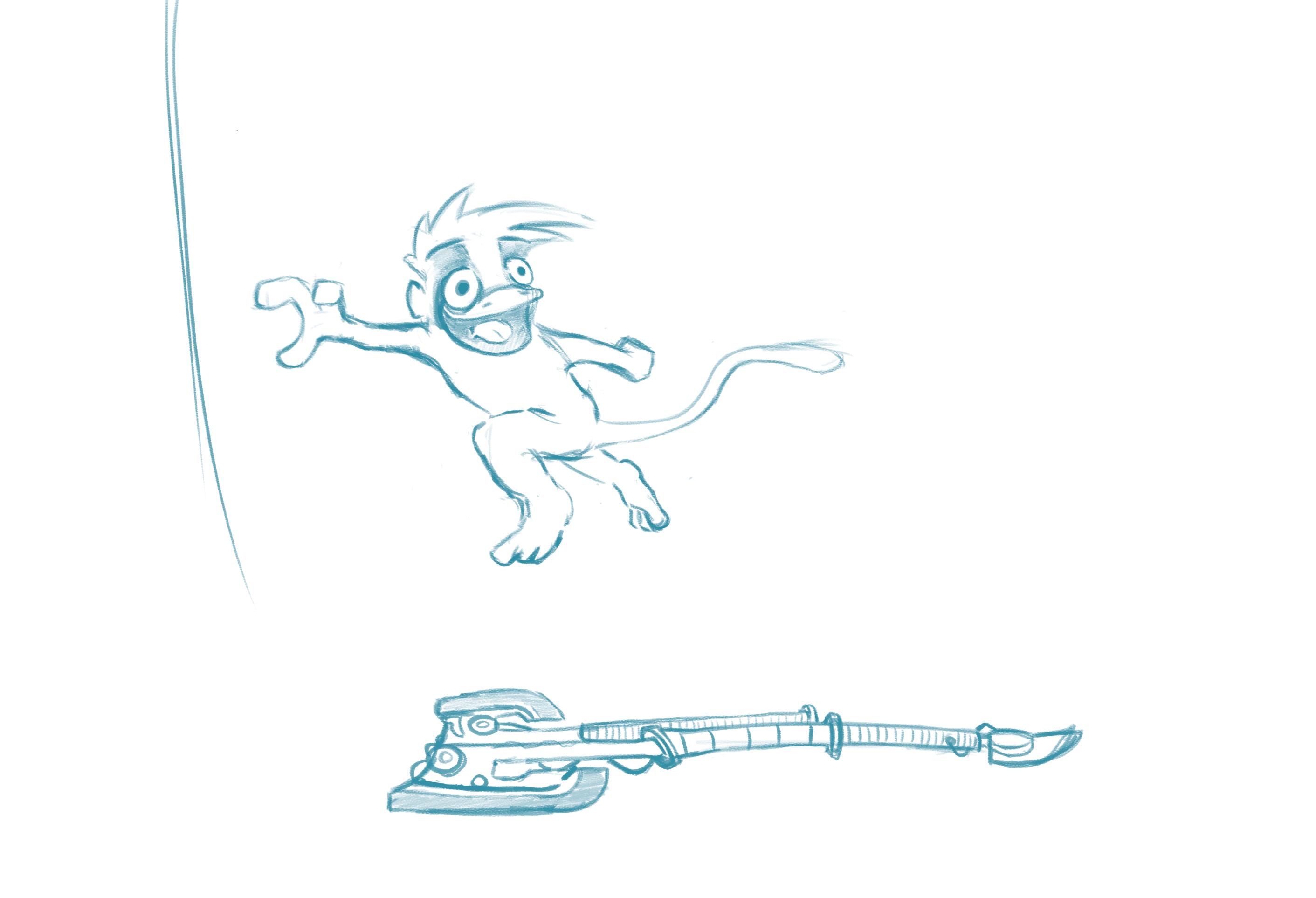 Forest fighter-Sketch
