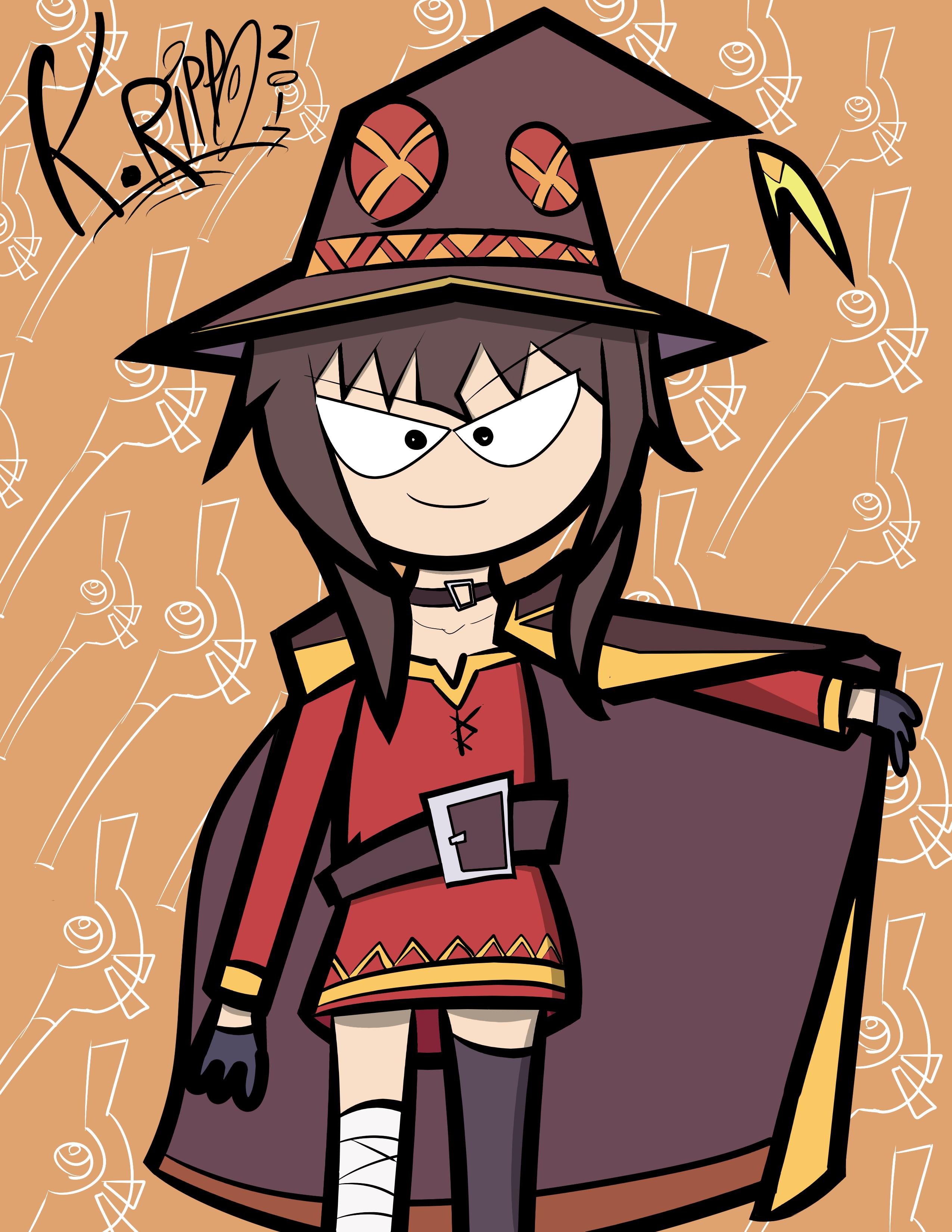Megumin from Konosuba