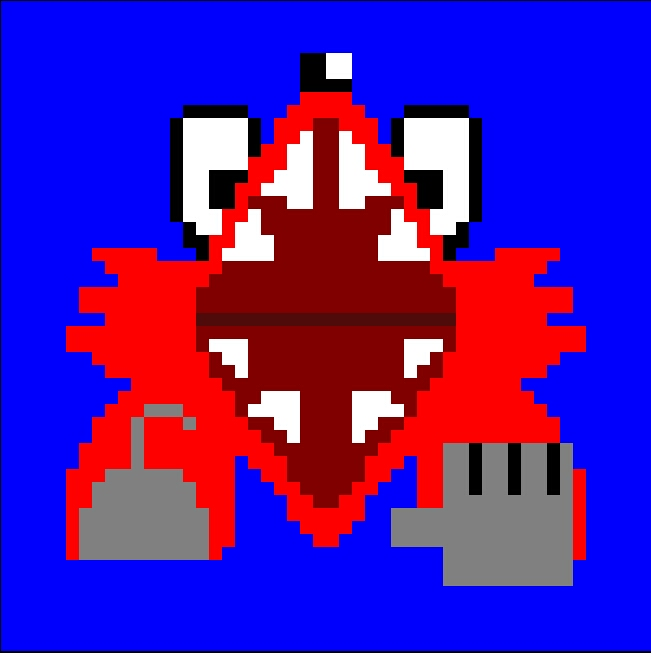 Foxy's Jumpscare - Happy Pixel Day!