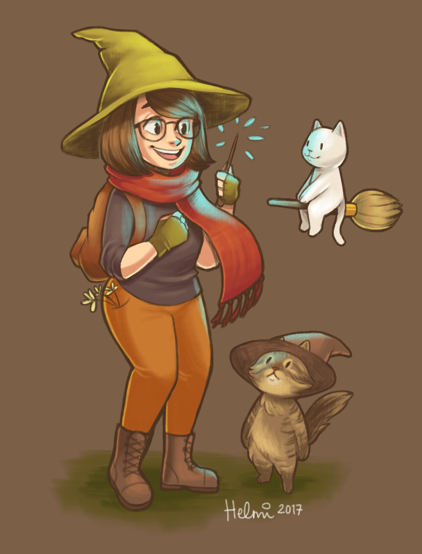 My witchsona for 2017