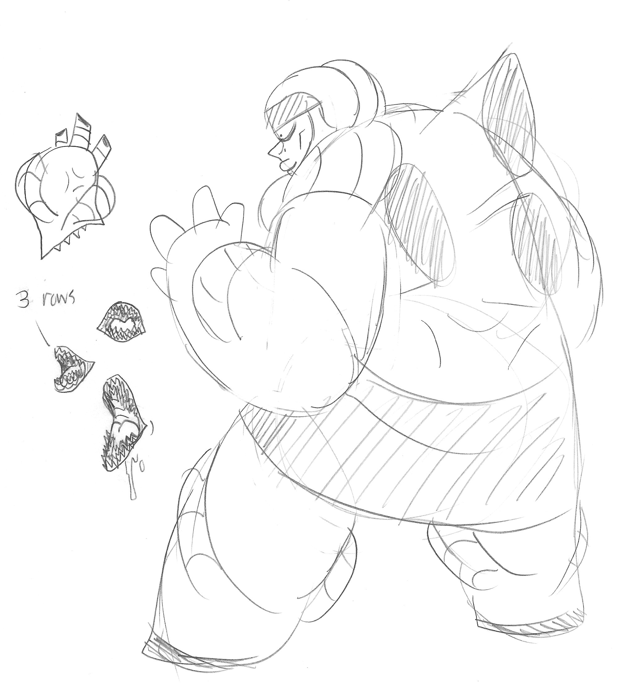 Al Brawn sketch dump
