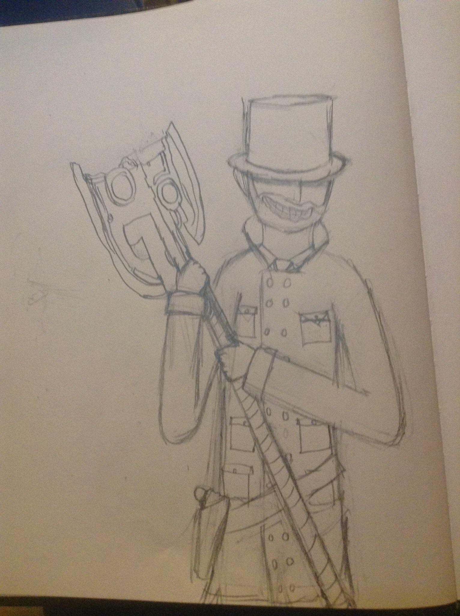 Proof I drew something