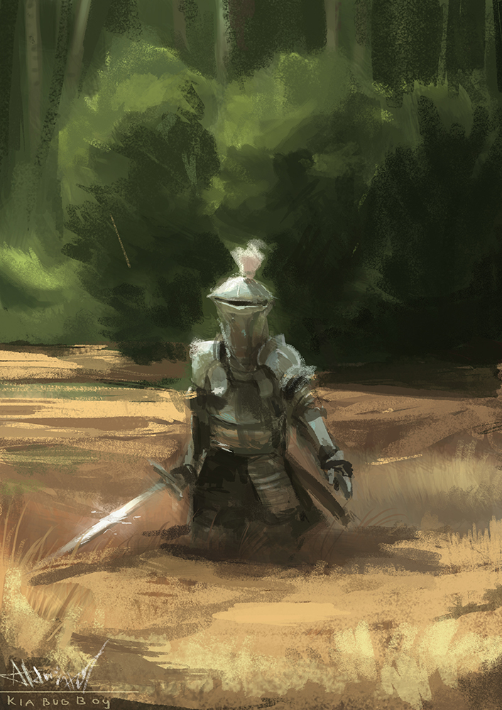 Another late knight sketch