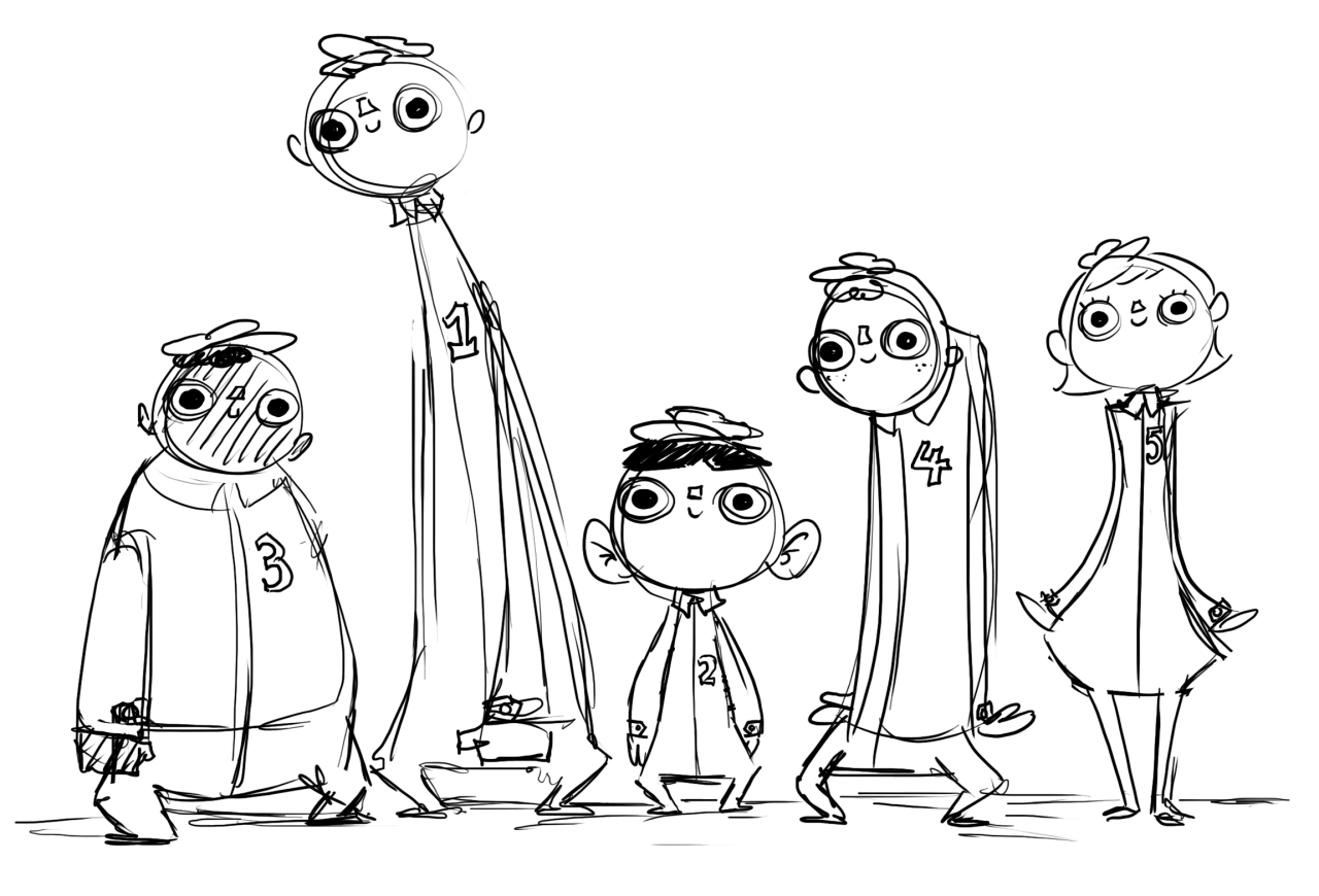 Stay Positive Concept Art 1: The Factory Workers