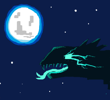 The dragon of the night