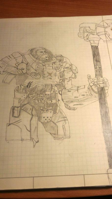 Space Marine Reinhardt