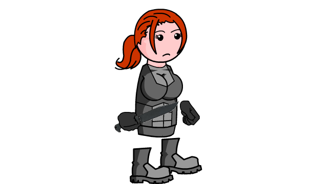 Girl soldier 01