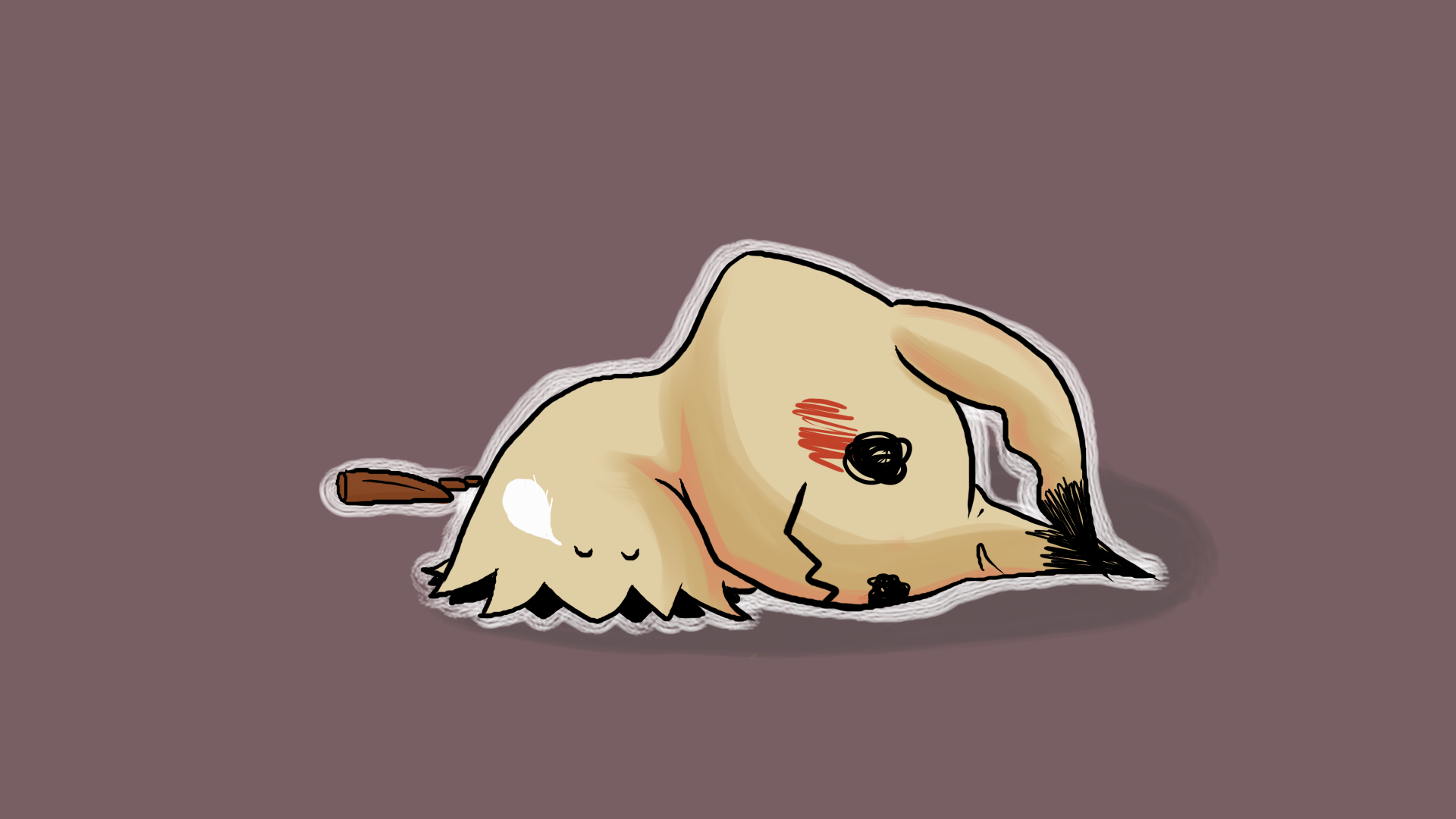 Mimikyu is tired