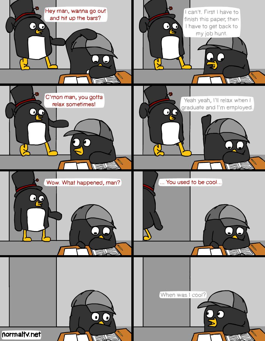 Penguins in Hats - Responsibilities