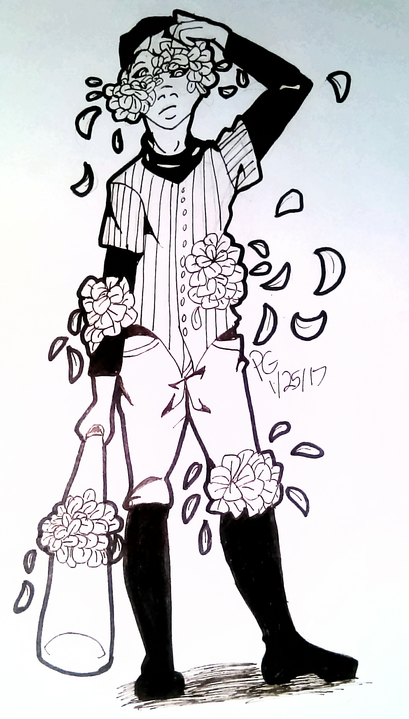 OFF The Batter with more flowers