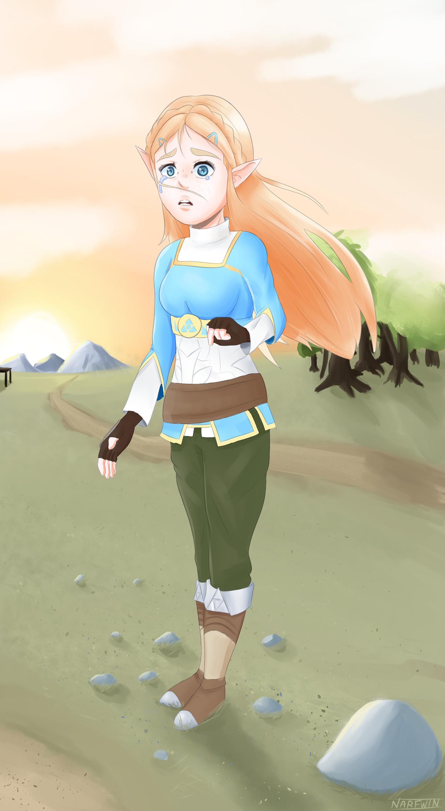 Zelda from Breath of the wild