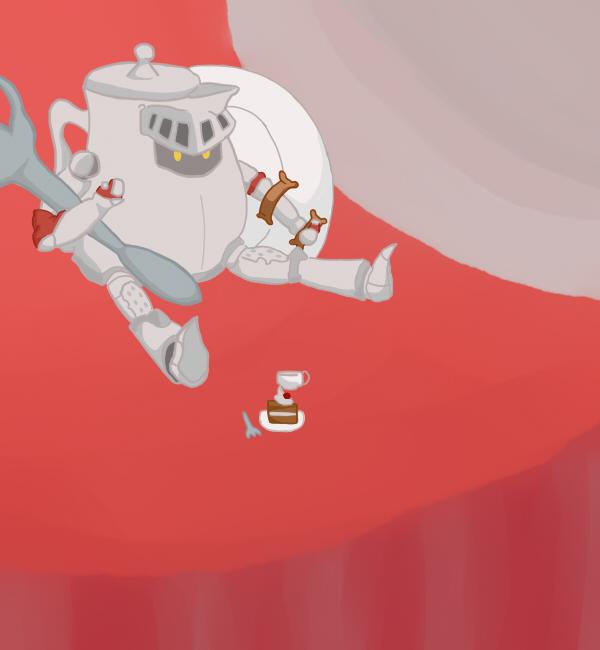 Teapot Knight