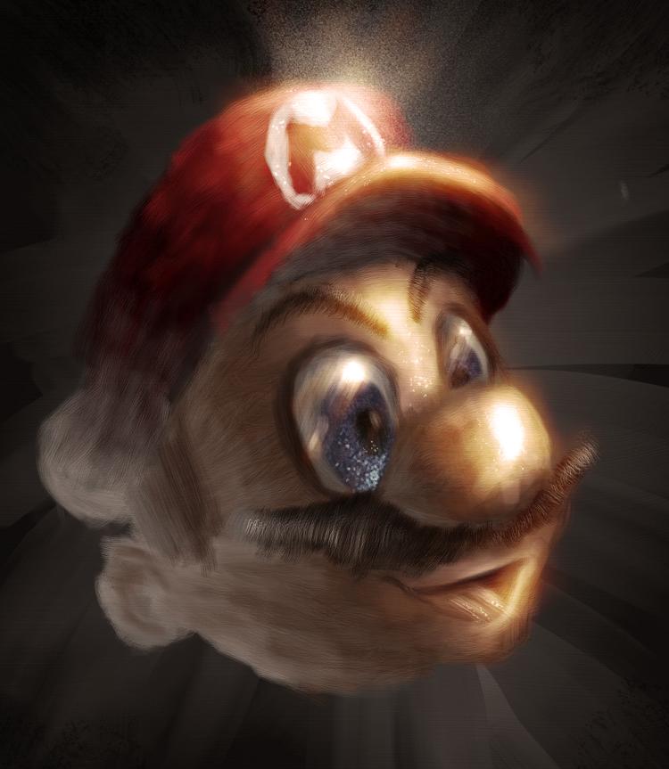 Mario Painted