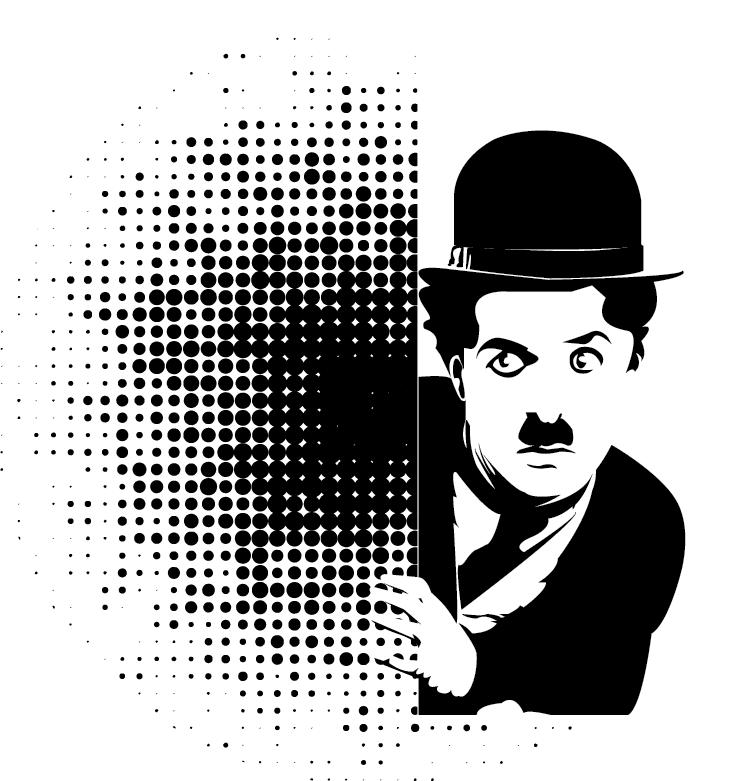 Pop-Art Chaplin