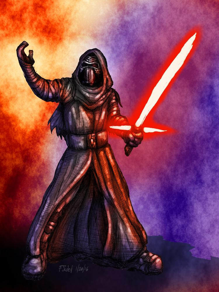 Kylo Ren Dark Force