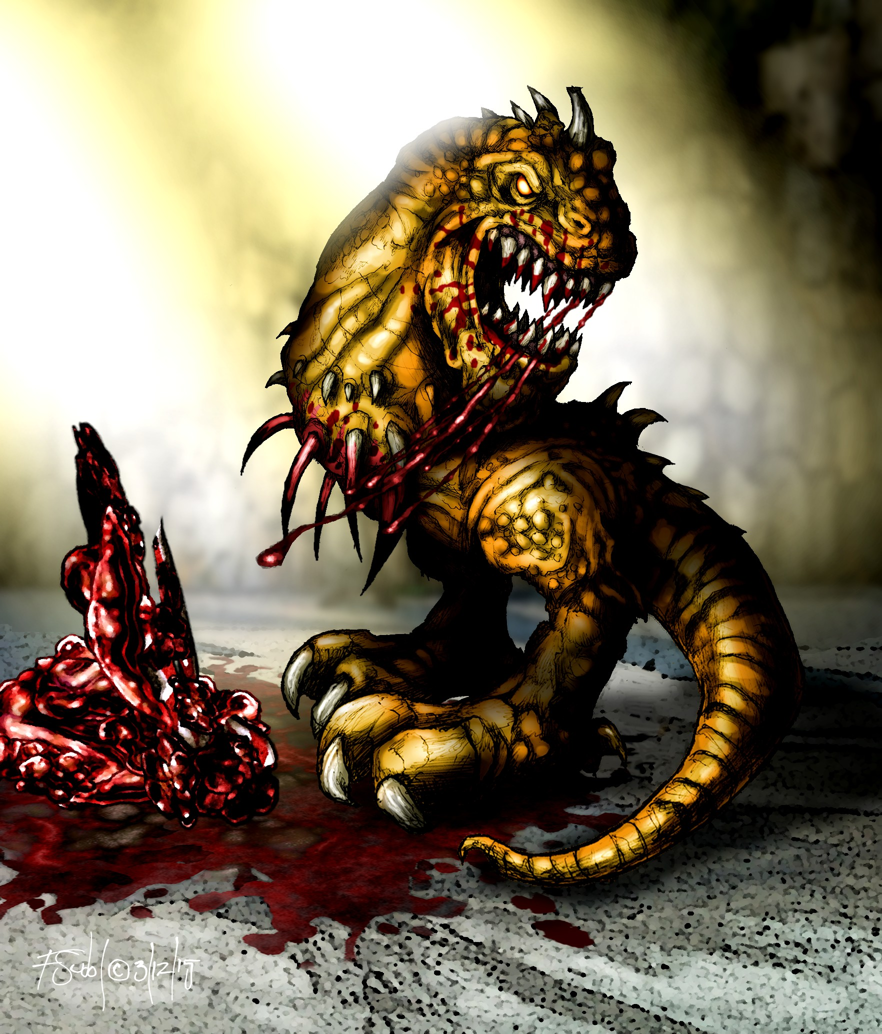 Spiked Raptor