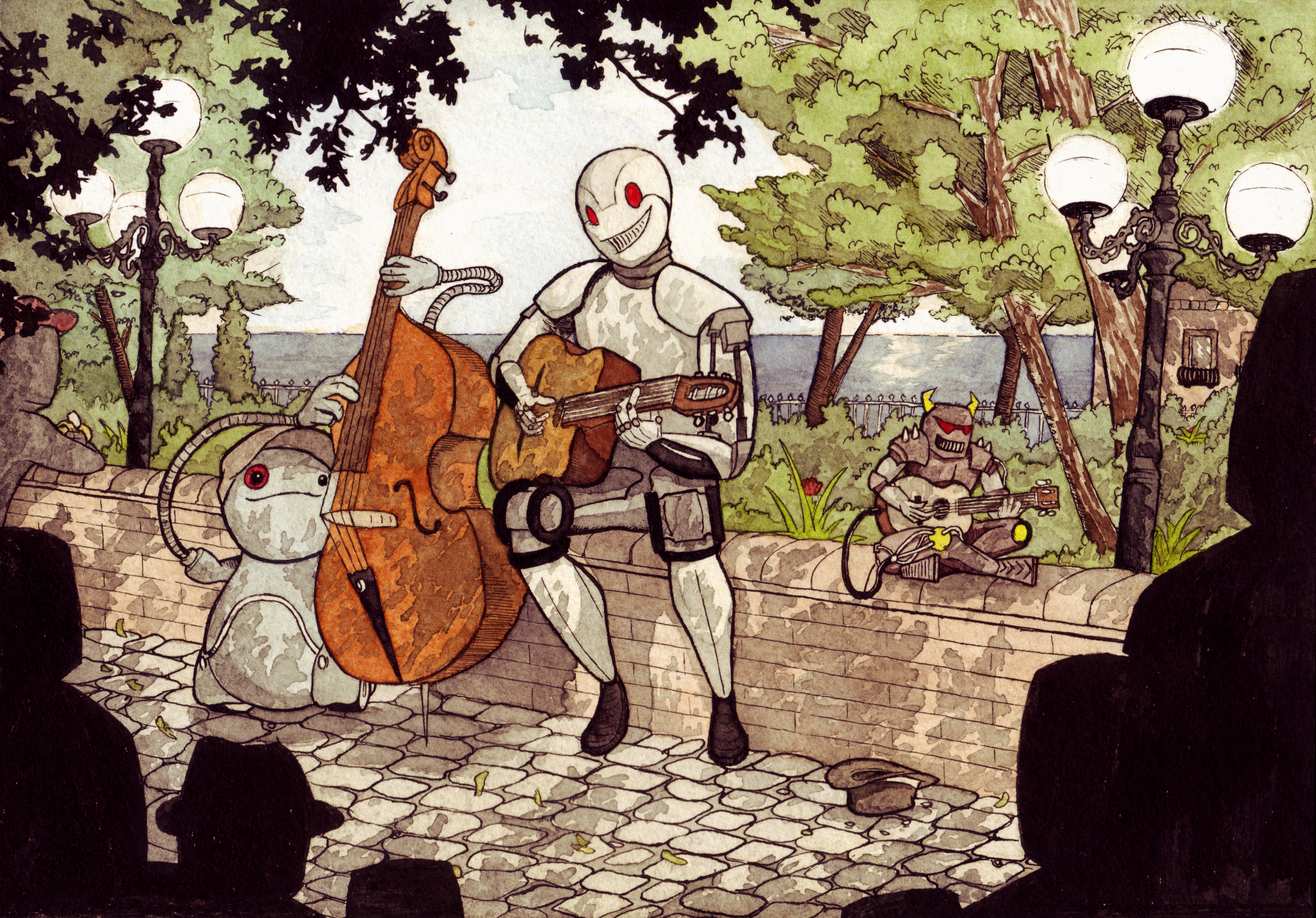 Robot Jazz Jamsession