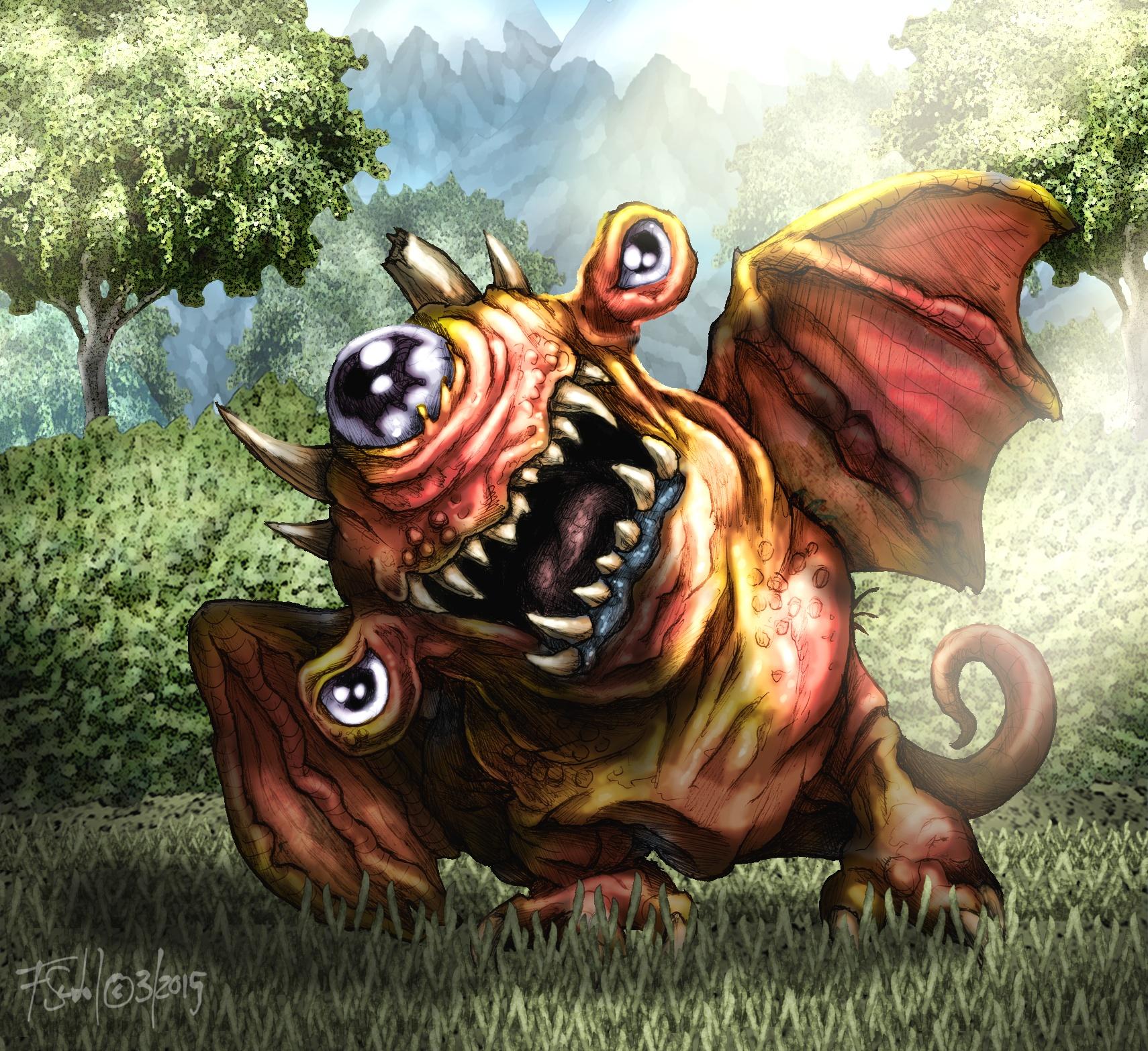 Leaf Eye Dragon
