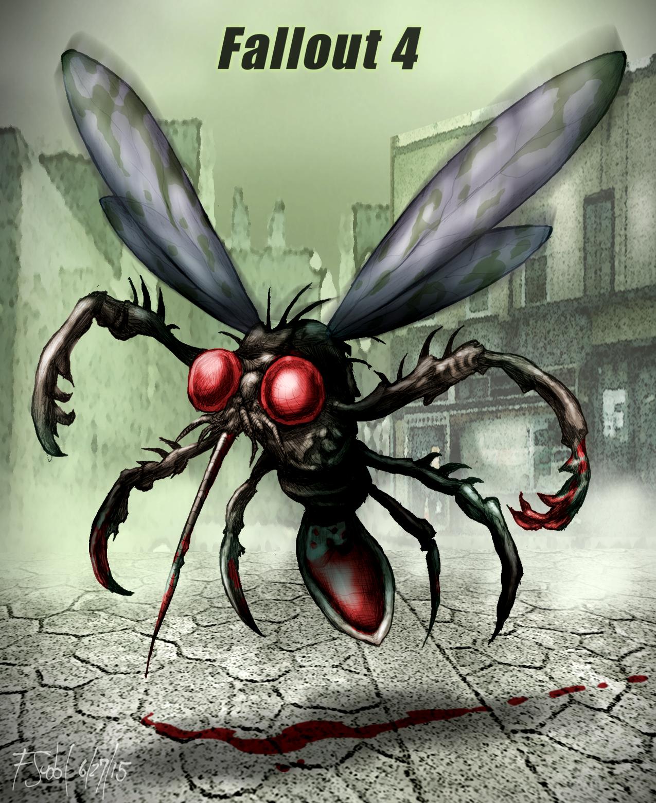 Blood Bug Fallout Fan Art