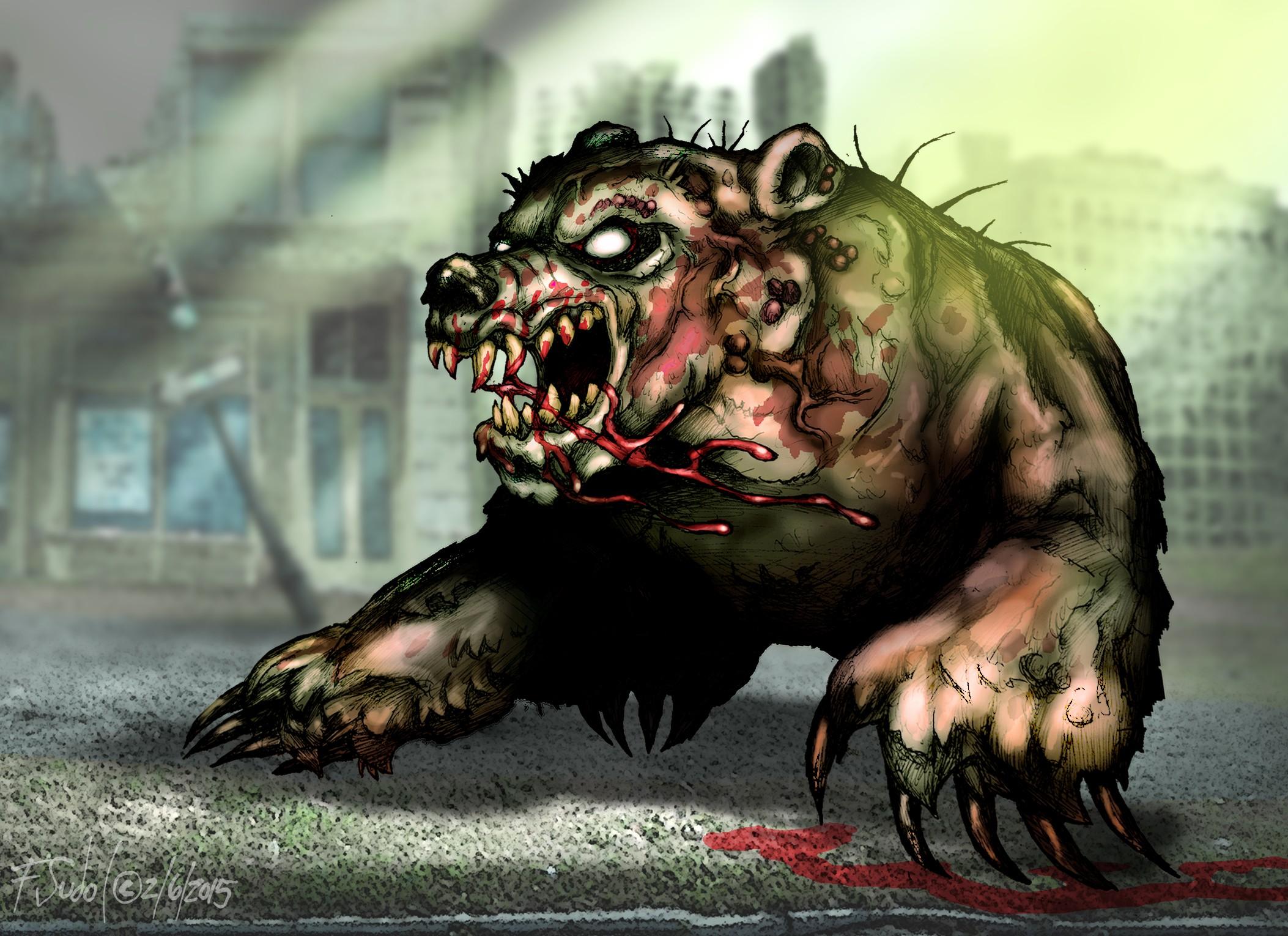 Bear Fallout Fan Art