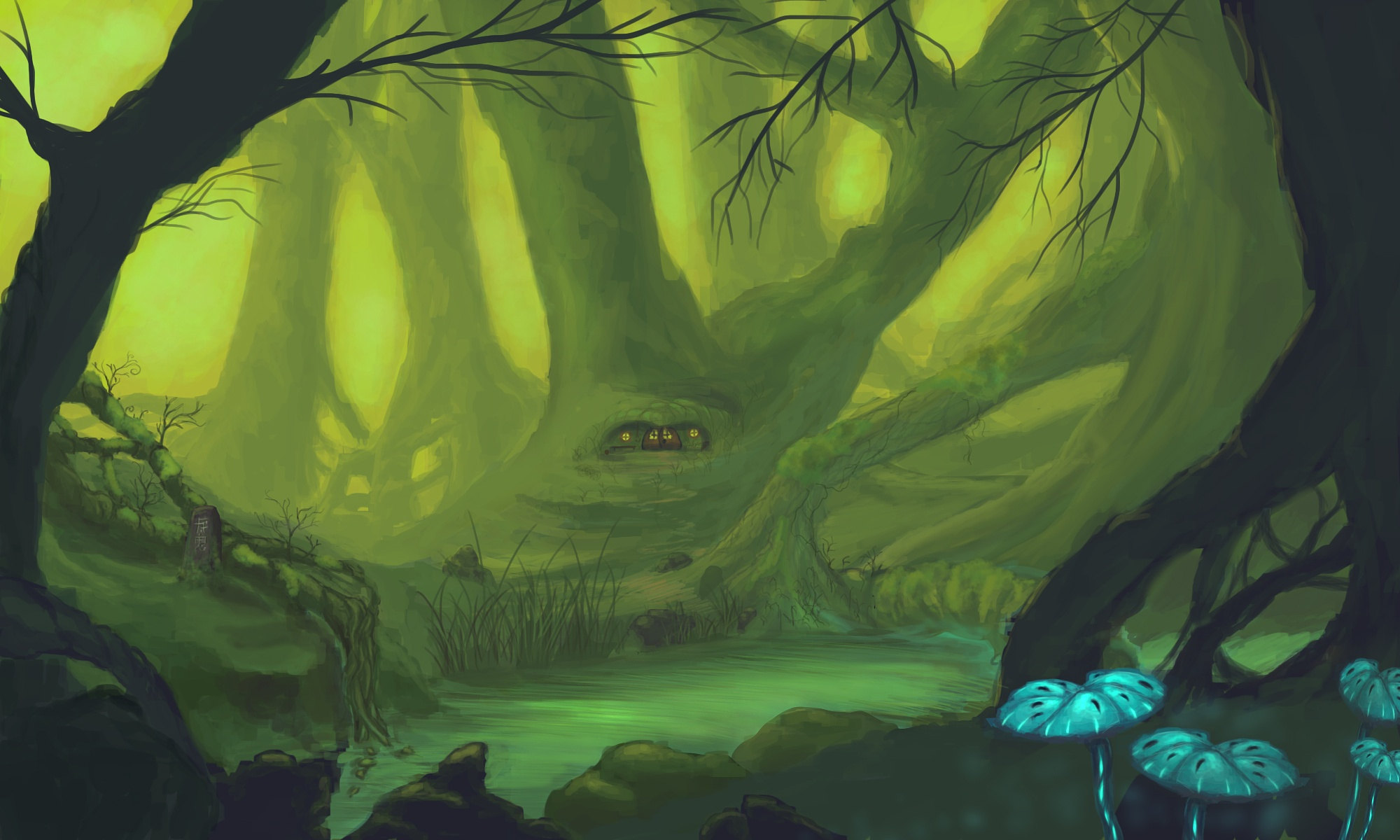 Forest of Dwarves